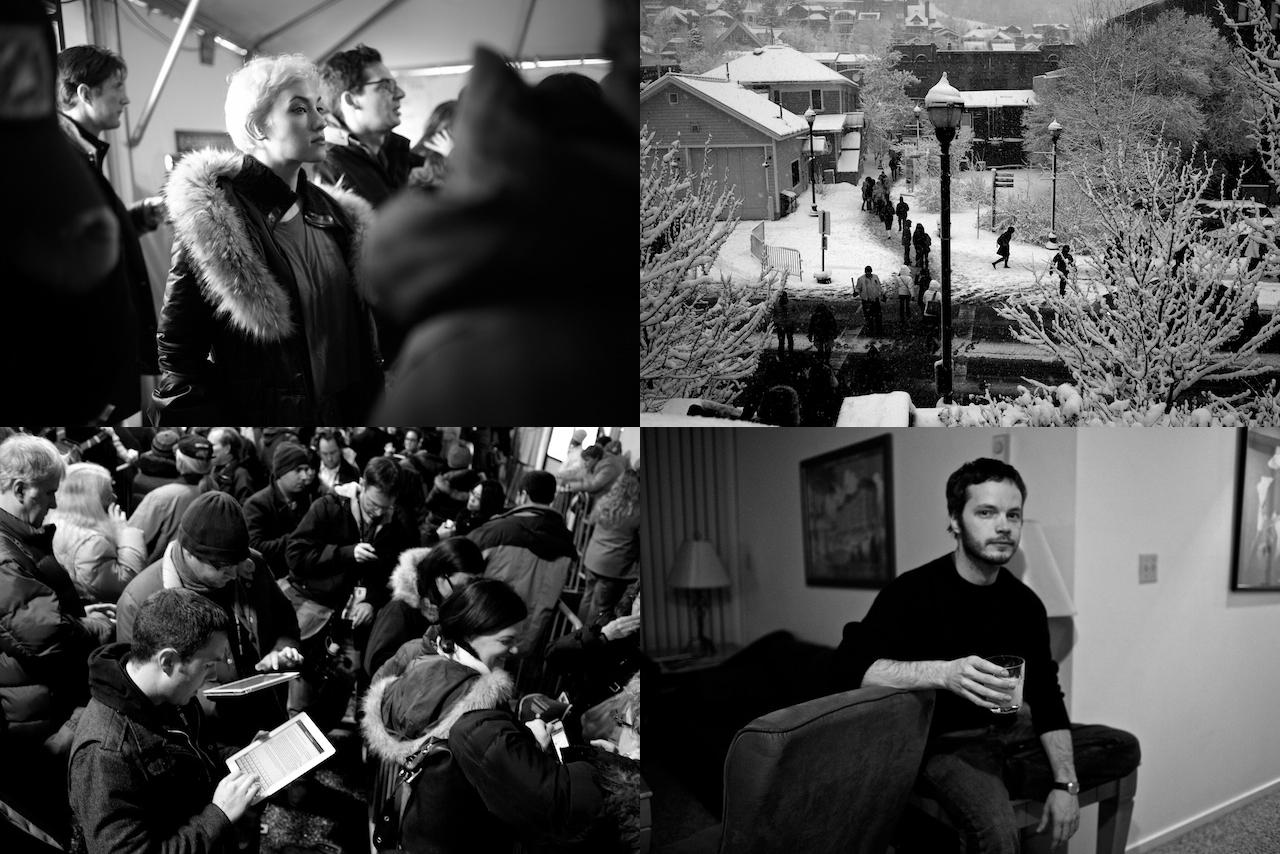 Michael Lavine At Sundance For Filmmaker Magazine Ah News