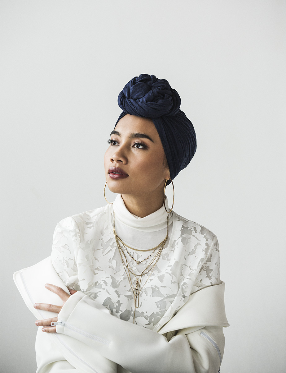 Ramona Rosales photographed Yuna for Billboard Magazine