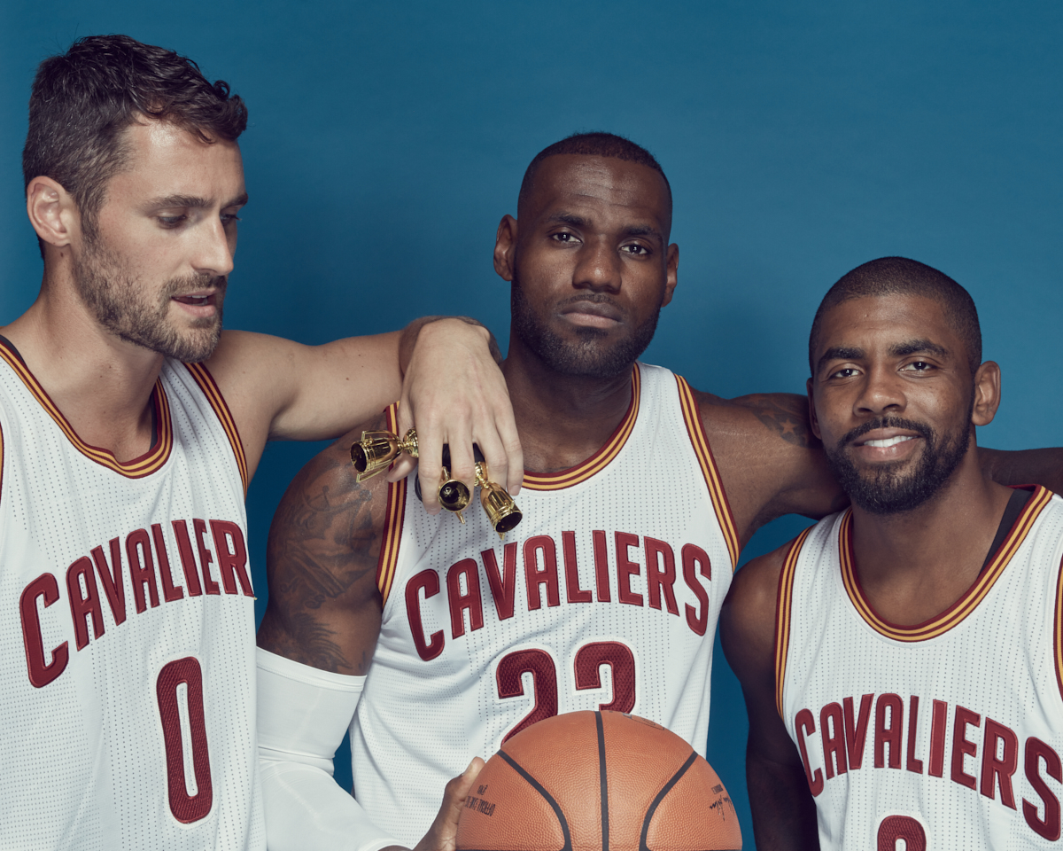 Ricky Rhodes photographed the Cleveland Cavaliers