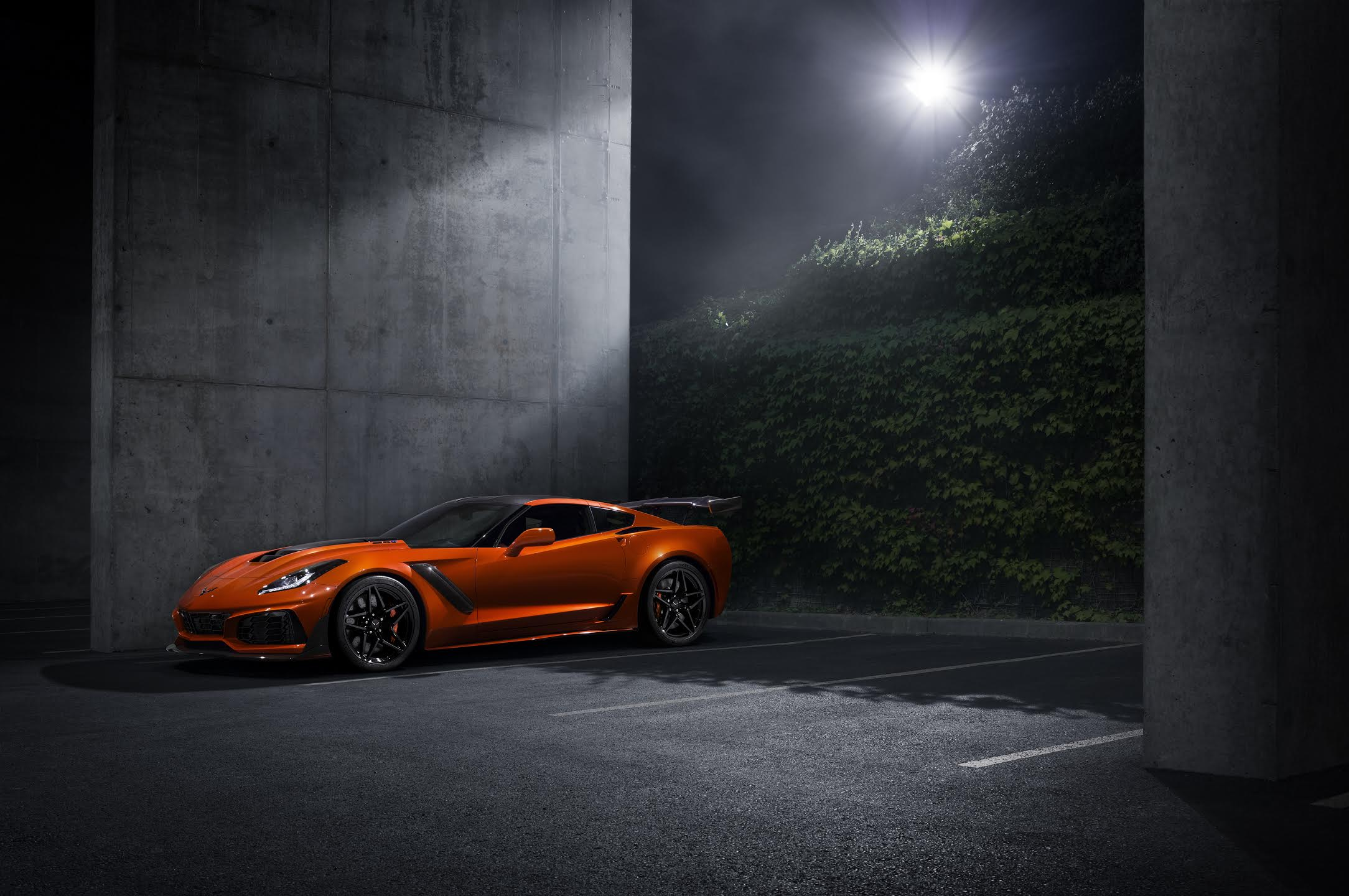 Alex Bernstein photographed the 2019 Corvette ZR1 for Chevrolet