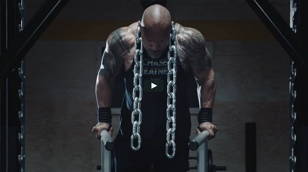 Director Ture Lillegraven for Under Armour x The Rock