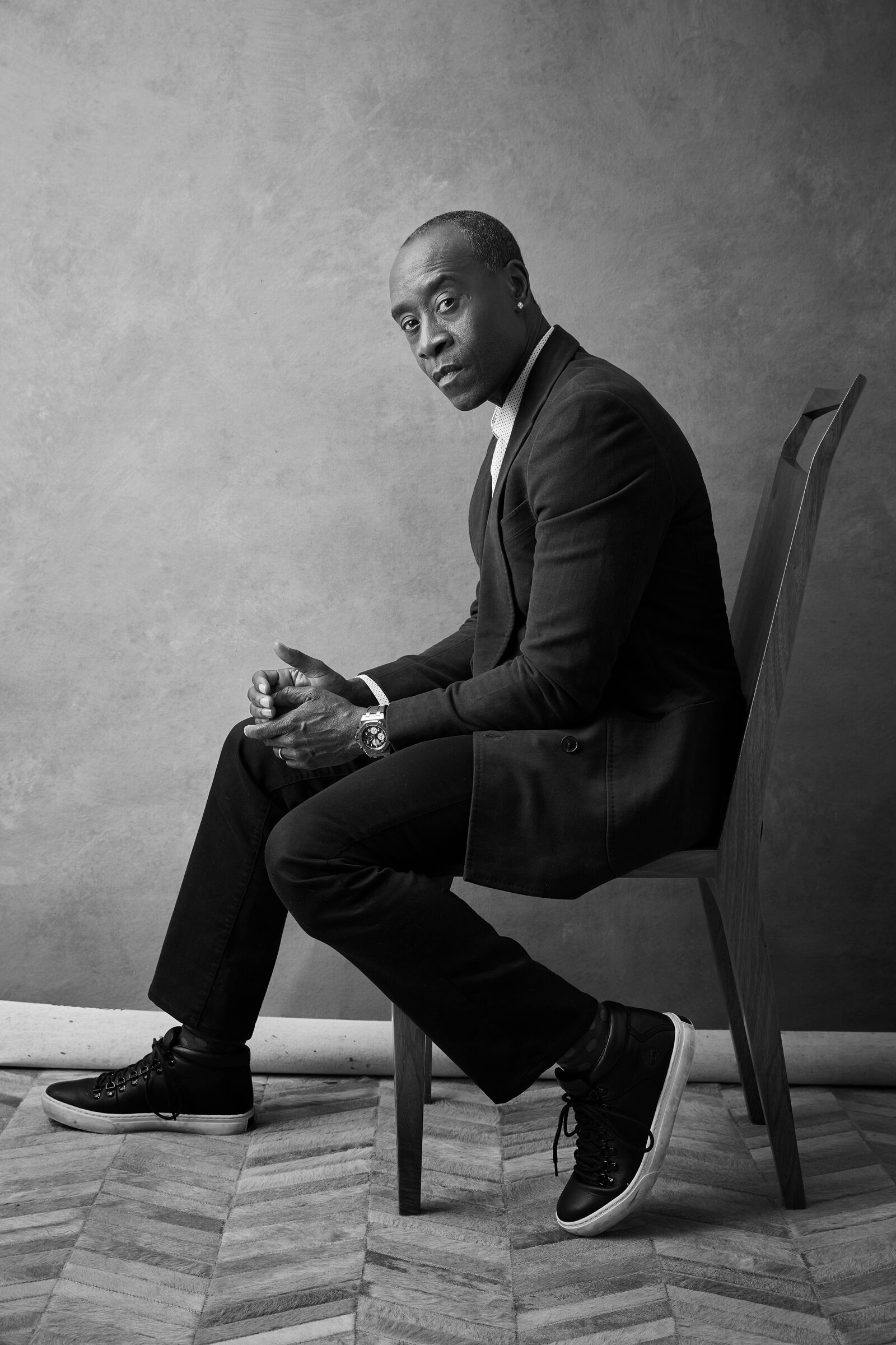 Justin Bettman photographed Don Cheadle for Esquire